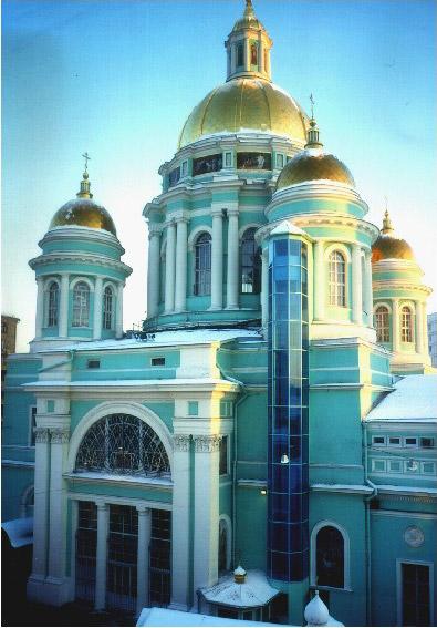 Лифт Елоховского собора