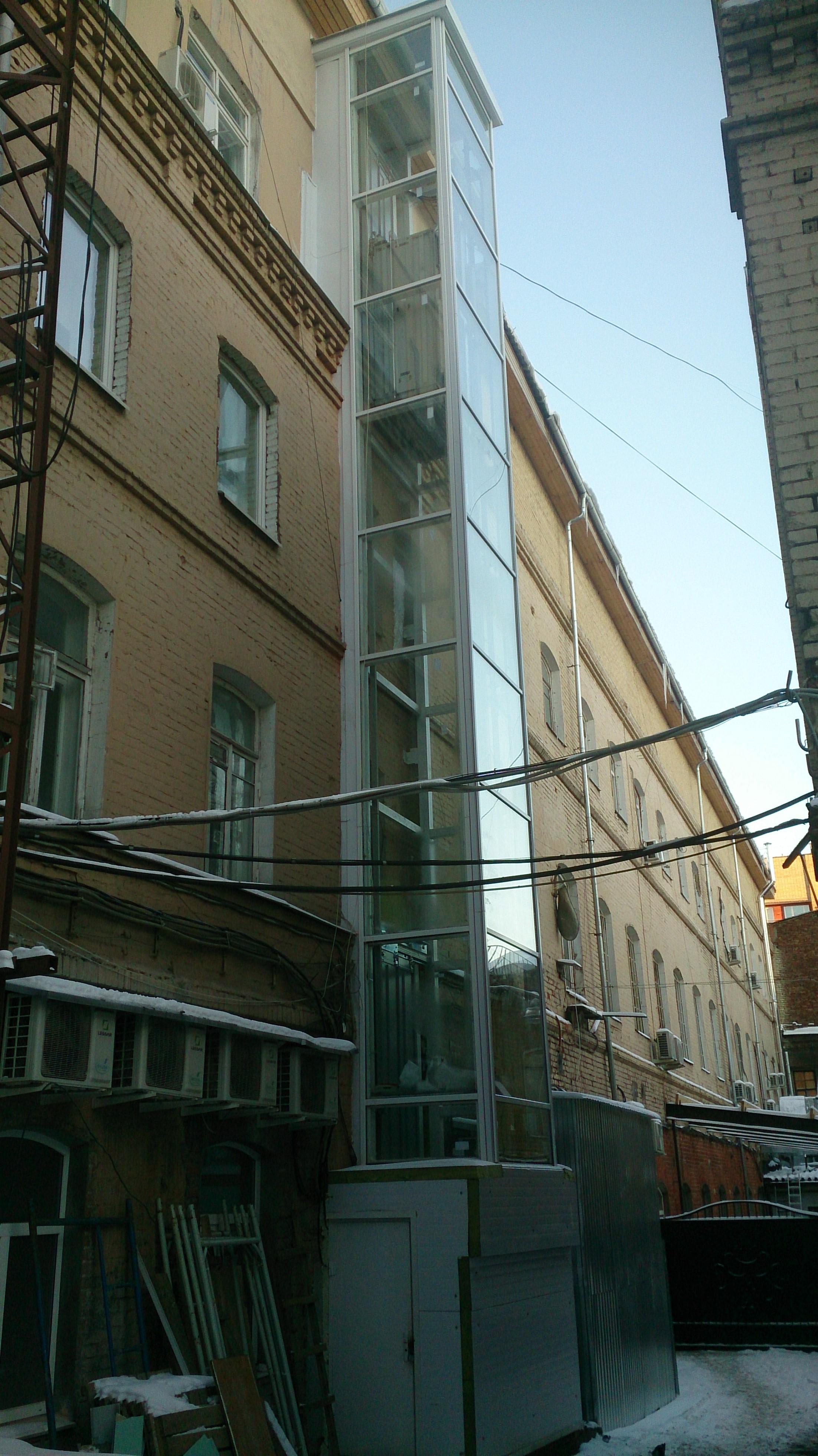Монтаж лифта Казакова д.8