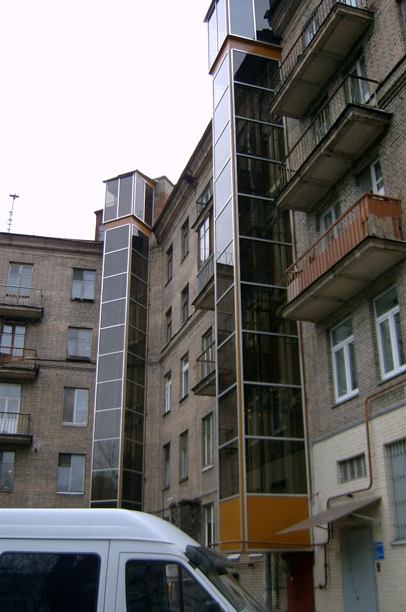 Монтаж лифта в Санкт Петербурге